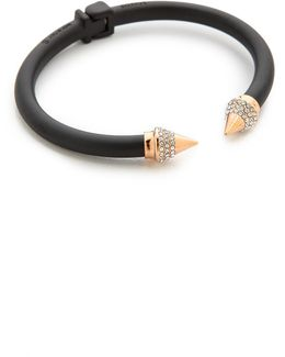 Mini Titan Two Tone Crystal Bracelet