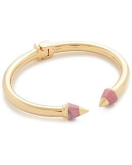 Mini Titan Metal Tip Stone Bracelet