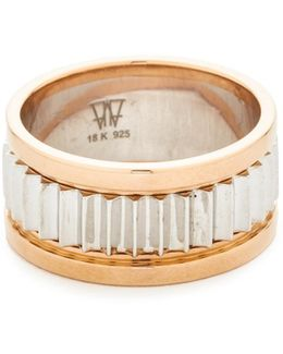 Clive Small Fluted Band Ring