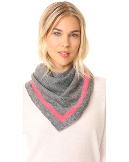 Cashmere Tipped Neck Scarf
