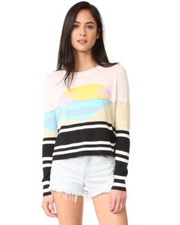 Harbour Sunset Sweater