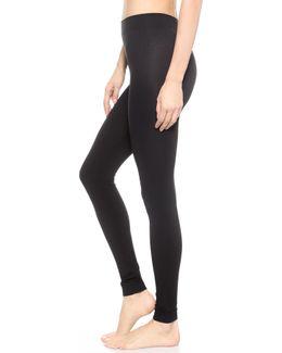 Velvet 100 Leg Support Footless Tights