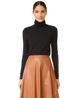 Viscose Turtleneck Pullover
