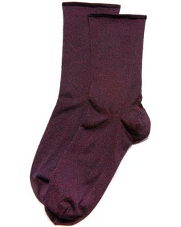 Lian Shimmer Socks