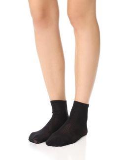 Rhomb Net Socks