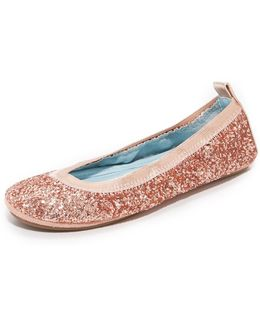 Hitched By Serena Glitter Flats