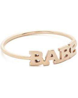 Babe Pinky Ring