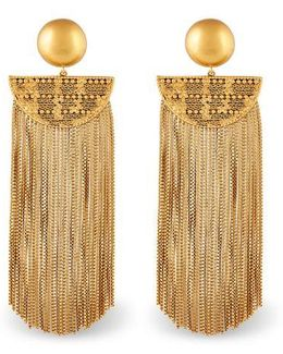 Justine Fringe Earrings