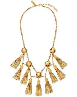 Jaqueline Tassel Fringe Necklace