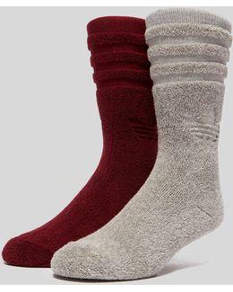 Winter Crew Socks 2 Pack