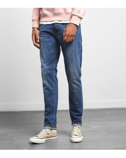 Ed-85 Slim Tapered Drop Crotch Jeans