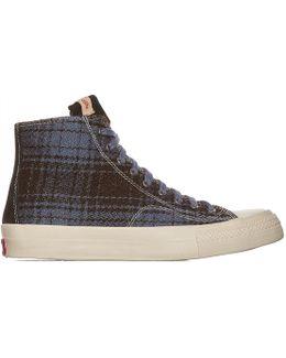 Skagway Hi Buffalo Check Sneakers