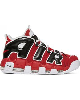Air More Uptempo'96 Red/white