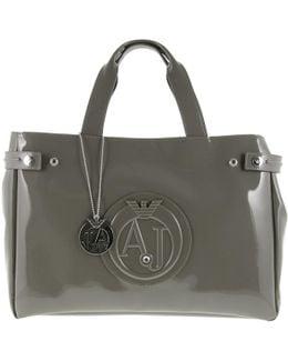 Large Patent Handbag
