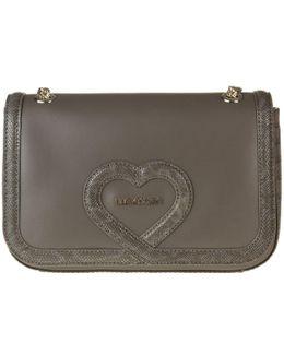 Chain Heart Handbag