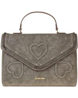 Branded Heart Handbag