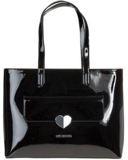 Silver Heart Handbag