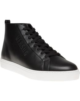 Logo High Top Trainers