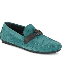 2012a Men's Loafers / Casual Shoes In Green