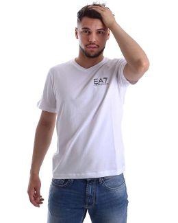3ypt53 Pj03z T-shirt Man Bianco Men's T Shirt In White