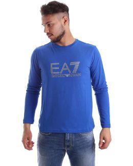 3yptb5 Pj03z T-shirt Man Blue Men's Long Sleeve T-shirt In Blue
