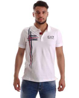 3ypf60 Pj39z Polo Man Bianco Men's Polo Shirt In White