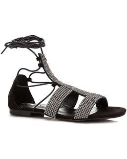 Flfay2 Esu03 Sandals Women Black Women's Sandals In Black