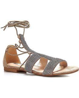 Flfay2 Esu03 Sandals Women Beige Women's Sandals In Beige