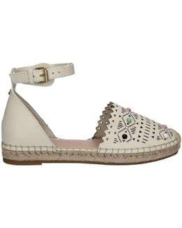 Flgys2 Lea14 Sandals Women Beige Women's Sandals In Beige