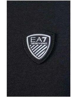 Ea7 By Emporio Top 3ypt95 Pj18z Men's Long Sleeve T-shirt In Black