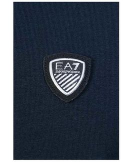 Ea7 By Emporio Top 3ypt95 Pj18z Men's Long Sleeve T-shirt In Blue