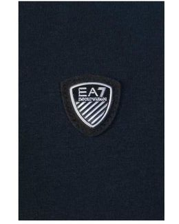 Ea7 Emporio Armani Polo Shirt 3ypf71 Pj20z Men's Polo Shirt In Blue