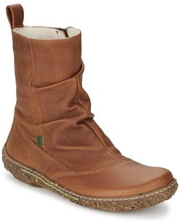 Nido Women's Mid Boots In Brown