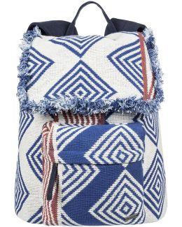 Mochila Feeling Latino Women's Backpack In Blue