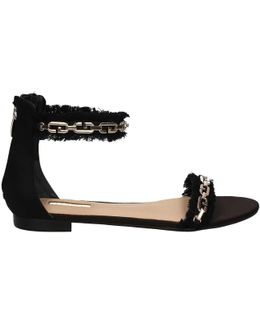 Flrac1 Sat03 Sandals Women Black Women's Sandals In Black