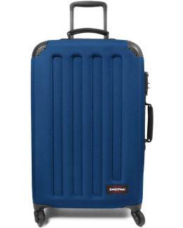 Ek74f33n Trolley 4 Wheels Accessories Blue Women's Hard Suitcase In Blue