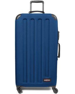 Ek75f33n Trolley Big Accessories Blue Women's Hard Suitcase In Blue