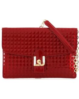 A17086e0004 Pochette Accessories Red Women's Pouch In Red