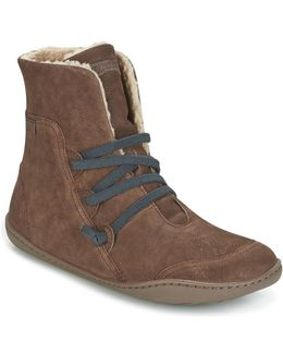Peu Cami Women's Mid Boots In Brown