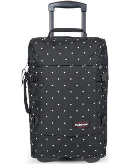 Ek661 Trolley Luggage Black Men's Soft Suitcase In Black