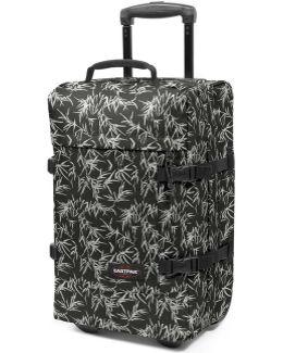 Ek66131k Trolley Luggage Black Men's Soft Suitcase In Black