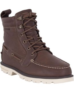 Men's Authentic One Eye Lug Boots, Brown Men's Mid Boots In Brown