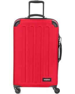 Ek74b53b Trolley 4 Wheels Accessories Red Men's Hard Suitcase In Red