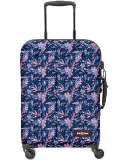 Ek73b67m Trolley Luggage Violet Men's Hard Suitcase In Purple