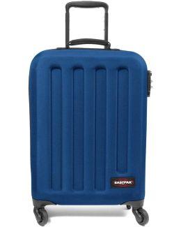 Ek73f33n Trolley 4 Wheels Accessories Blue Men's Hard Suitcase In Blue