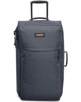 Ek36c Trolley Big Accessories Blue Men's Soft Suitcase In Blue