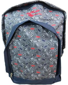 Aub398geo Boys's Children's Backpack In Grey