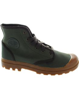 Pampa Hi Men's Low Ankle Boots In Green