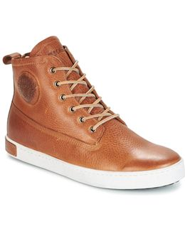 Gm06 Men's Shoes (high-top Trainers) In Brown