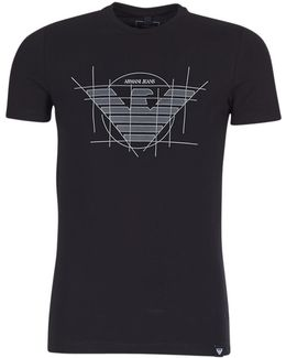 Rosy Men's T Shirt In Black